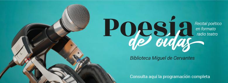 Cartel de Poesía de oídas
